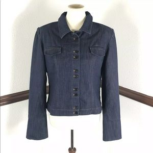 Boston Proper denim jacket size 14